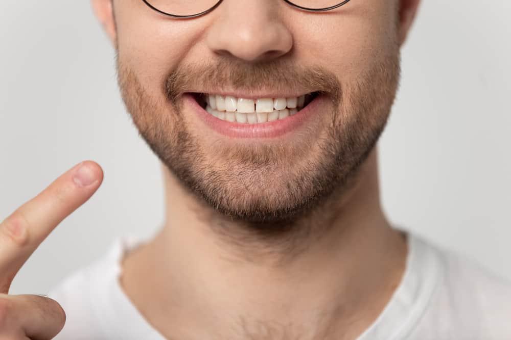 Teeth Whitening patient