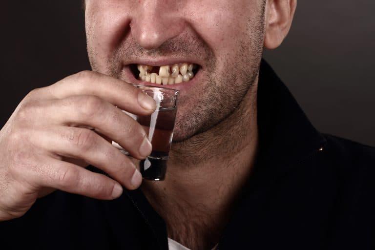 Damaged teeth due to weak enamel